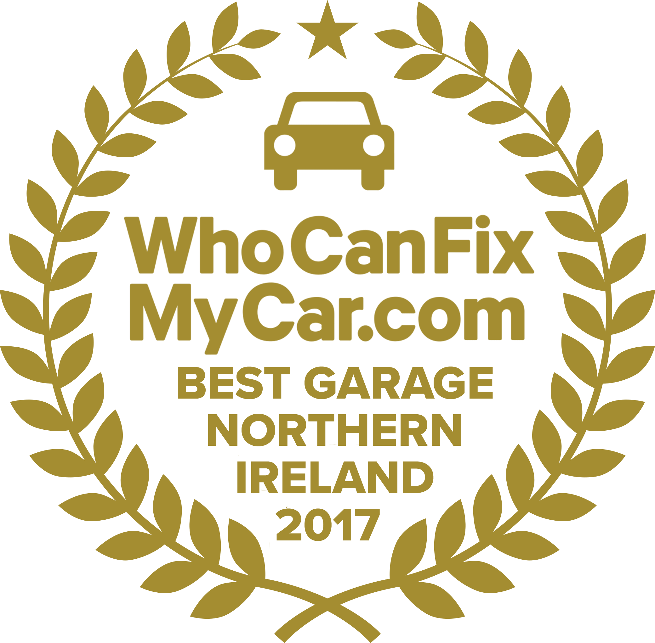 Best Garage 2017 - Northern Ireland
