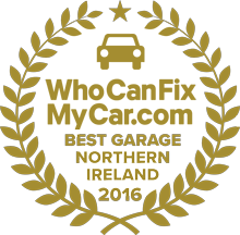 Best Garage 2016 - Northern Ireland