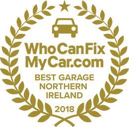Best Garage 2018 - Northern Ireland