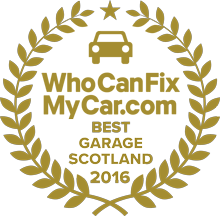 Best Garage 2016 - Scotland