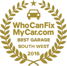 Best Garage 2016 - South West